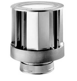 DVPTVHW Vertical Termination Cap - High Wind with Storm