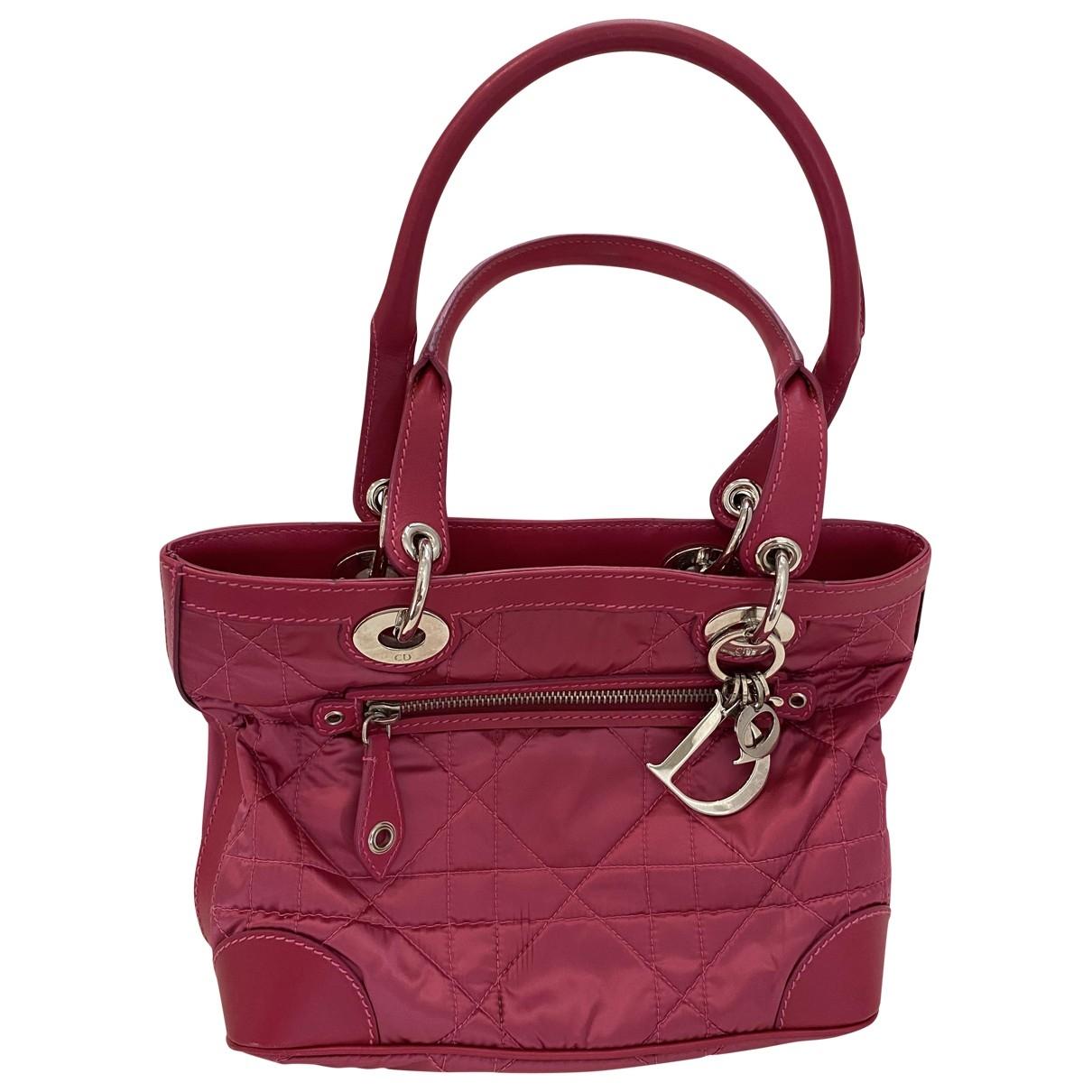 Dior Lady Dior Pink handbag for Women \N