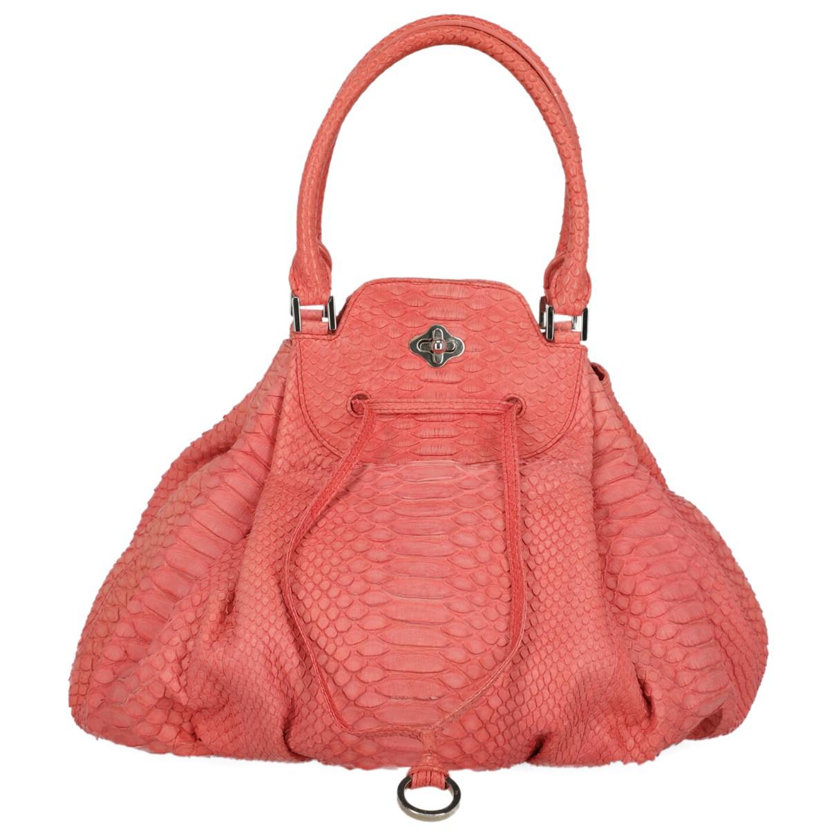 Emilio Pucci N Pink Python handbag for Women N
