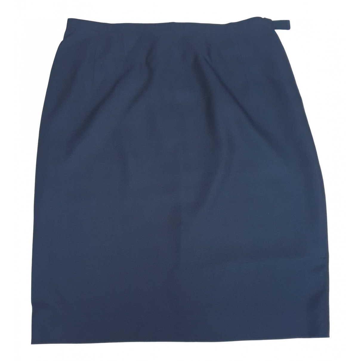 Prada - Jupe   pour femme en soie - bleu