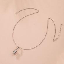 Halskette mit Schlange Anhaenger