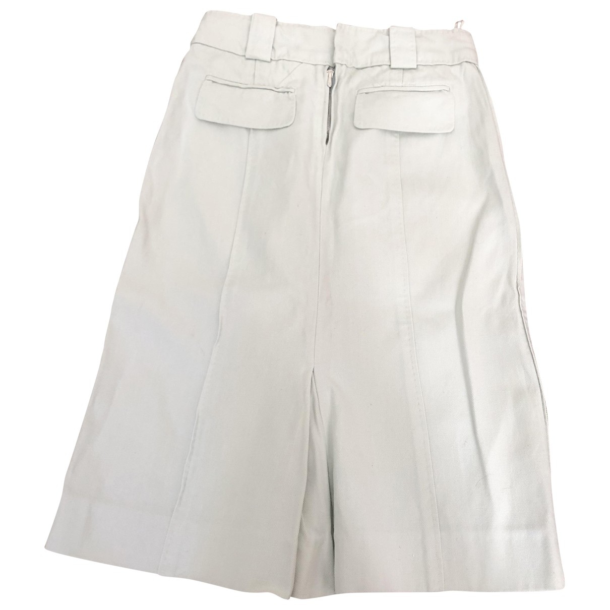 Louis Vuitton \N Blue Cotton skirt for Women 36 FR