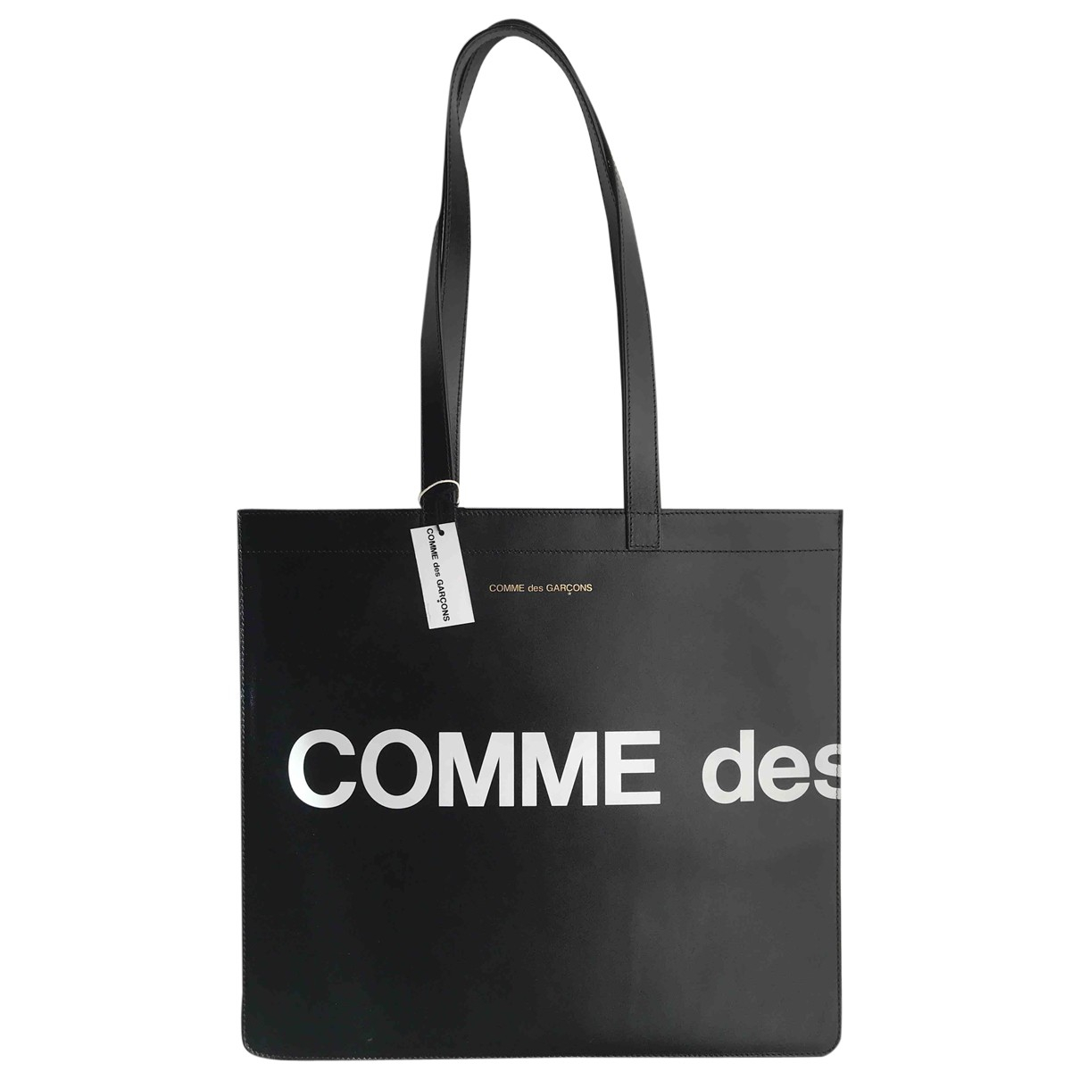 Comme Des Garcons N Black Leather handbag for Women N