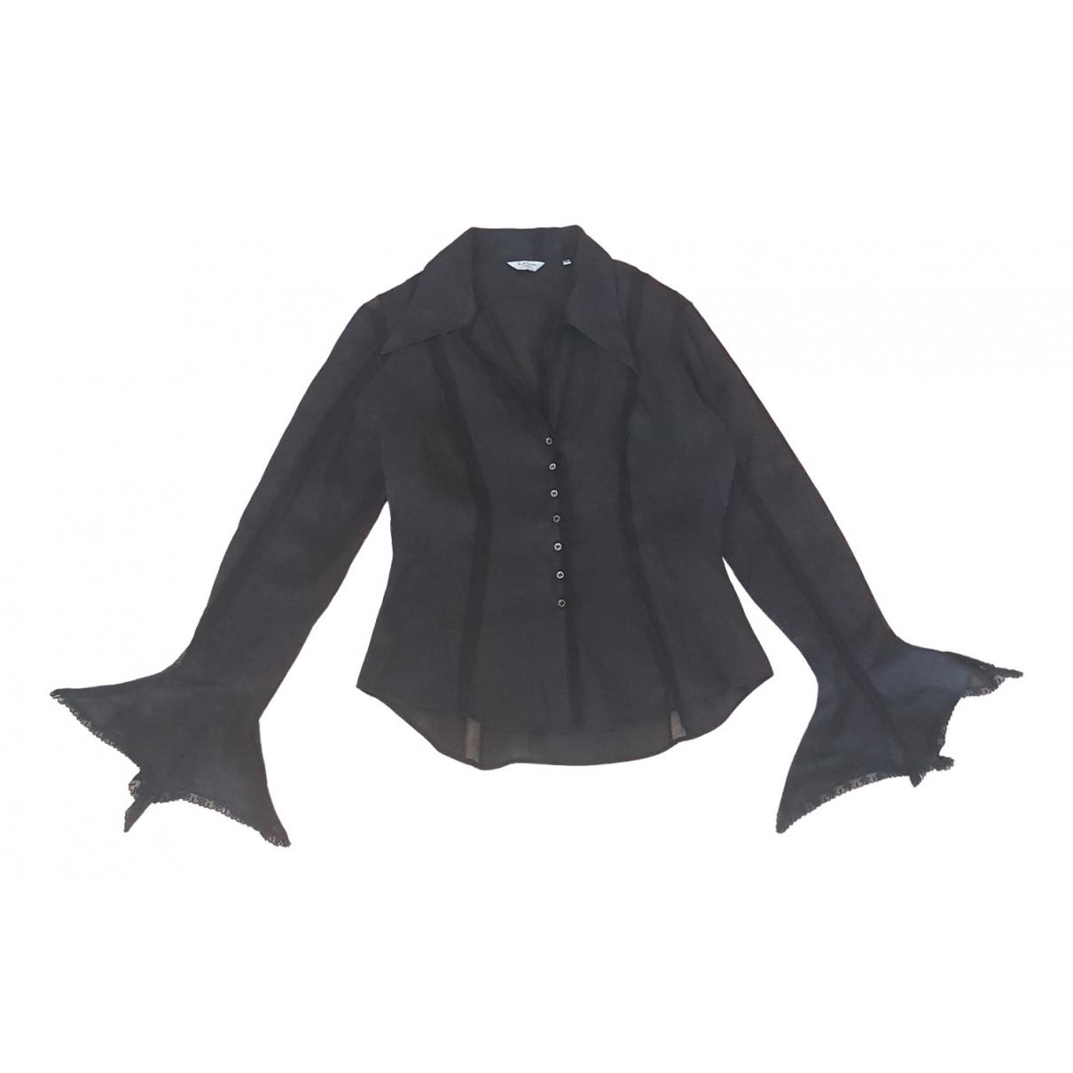 Paul Smith - Top   pour femme en coton - noir