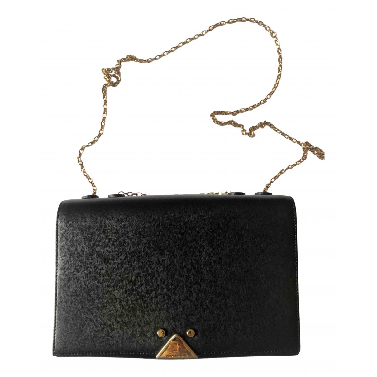 Emporio Armani - Sac a main   pour femme en cuir - noir
