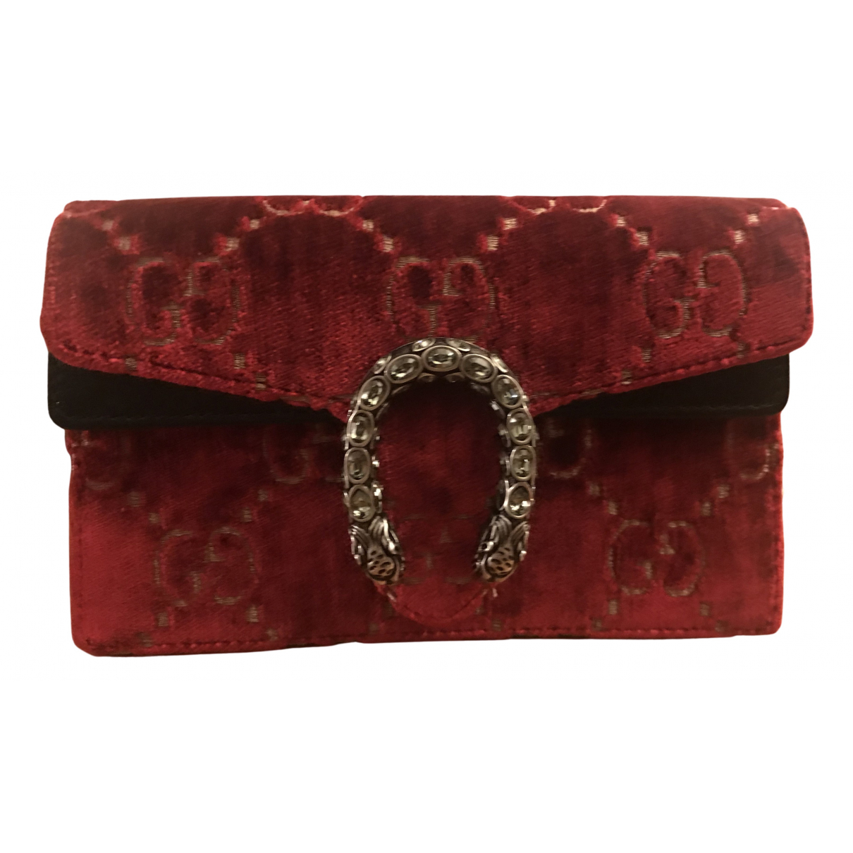 Gucci - Pochette Dionysus pour femme en velours - rouge