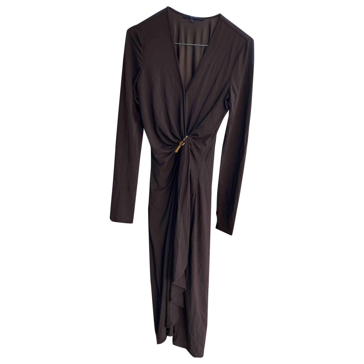 Gucci \N Kleid in  Braun Polyester