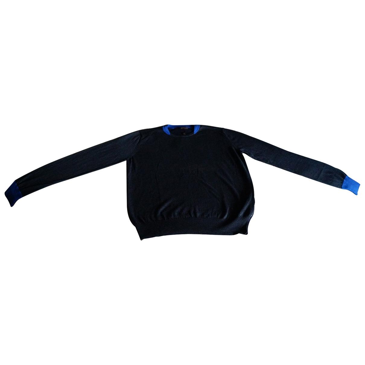 Louis Vuitton \N Pullover.Westen.Sweatshirts  in  Blau Kaschmir