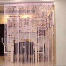 1pc Rose Decor String Curtain
