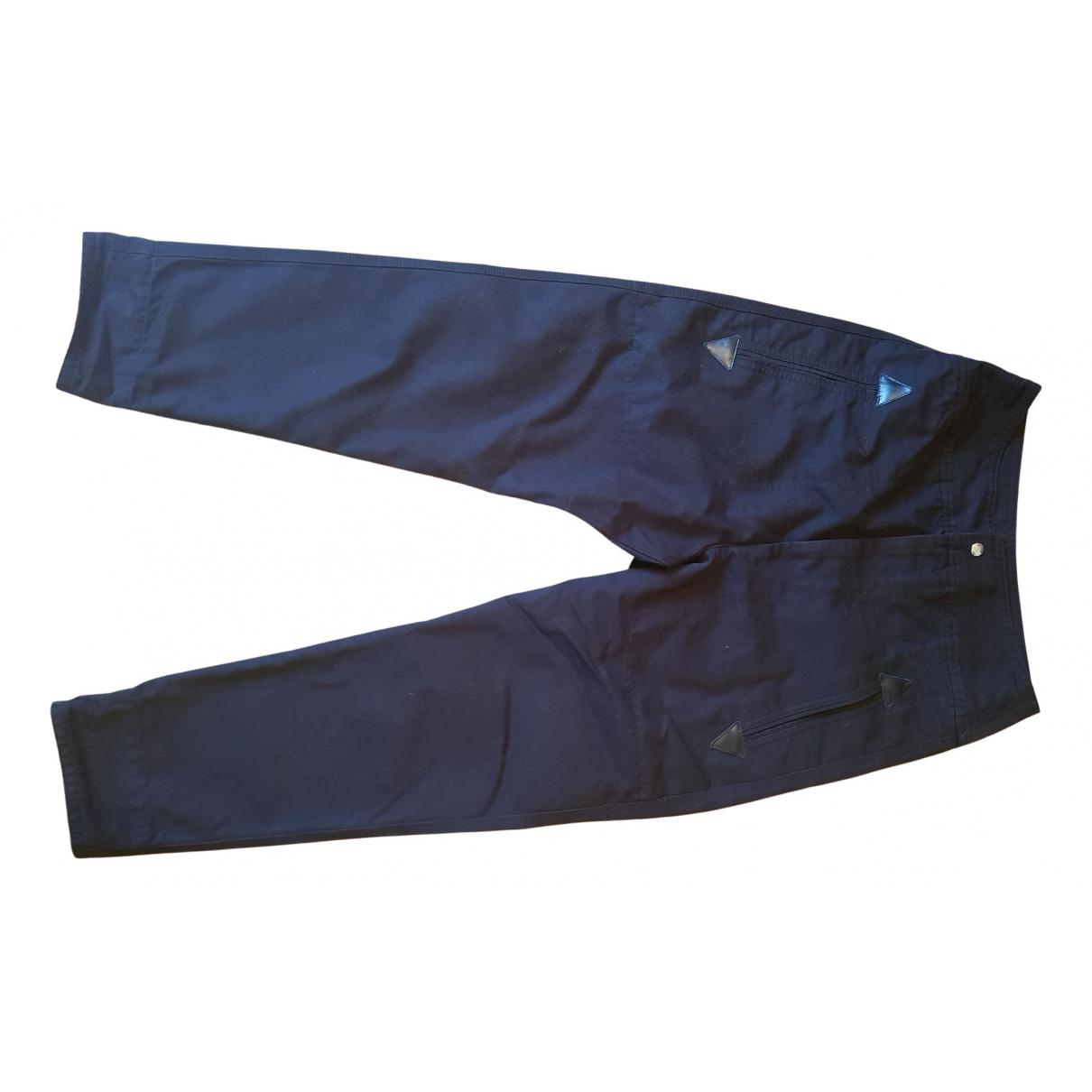 Isabel Marant Etoile N Black Cotton Trousers for Women 36 FR