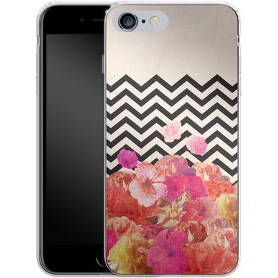Apple iPhone 6s Plus Silikon Handyhuelle - Chevron Flora II von Bianca Green