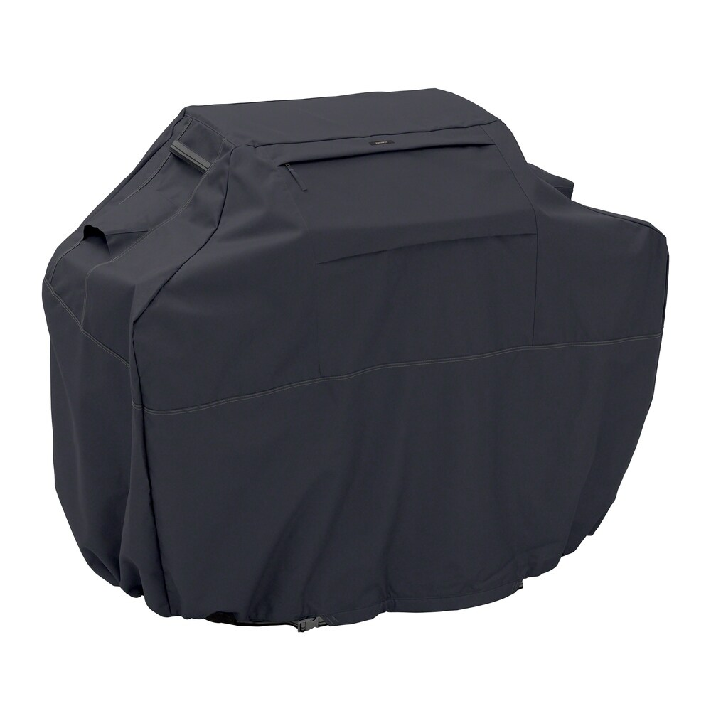 Classic Accessories Ravenna Water-Resistant 80 Inch BBQ Grill Cover (Taupe)