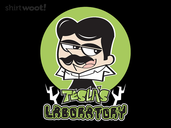 Tesla's Laboratory T Shirt