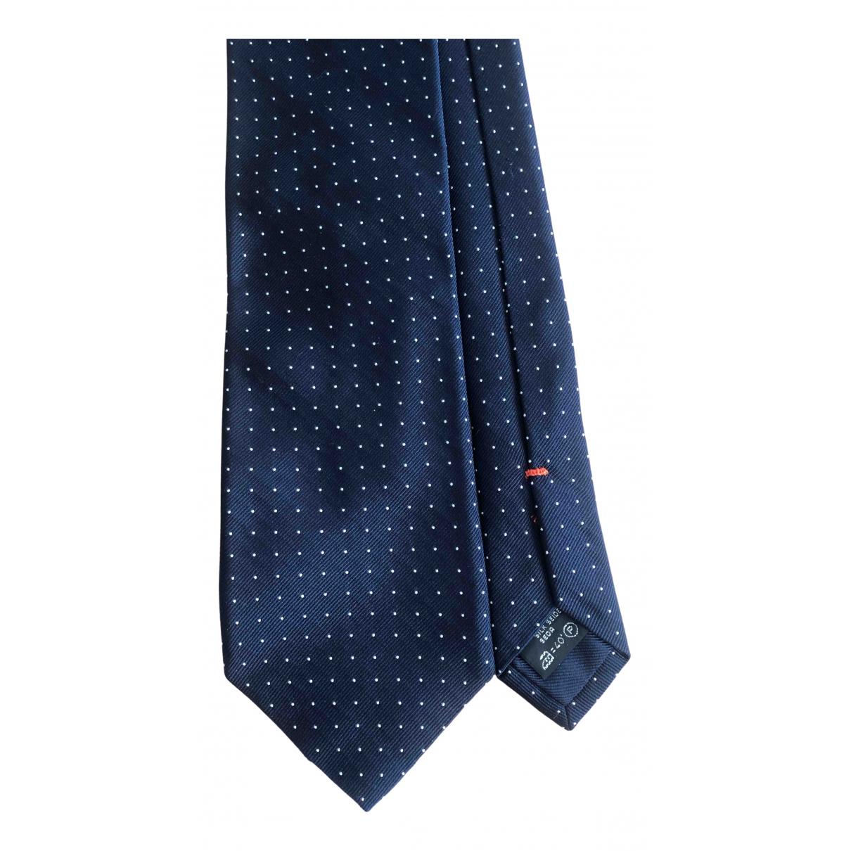 Z Zegna \N Blue Silk Ties for Men \N