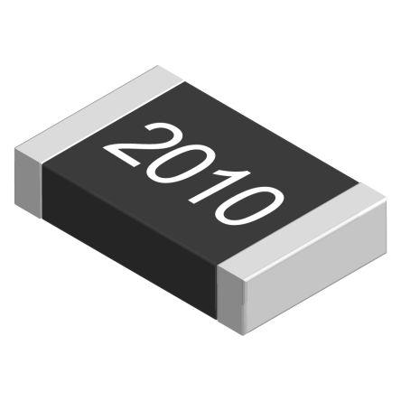 Vishay 100Ω, 2010 (5025M) Thick Film SMD Resistor ±1% 0.75W - CRCW2010100RFKEF (25)