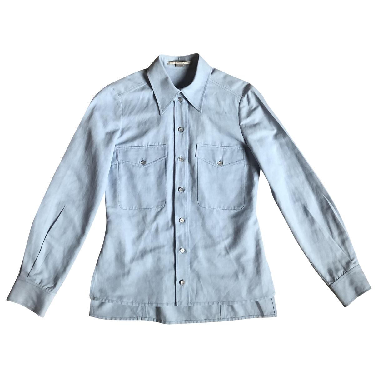 Stella Mccartney \N Blue Cotton  top for Women 38 IT