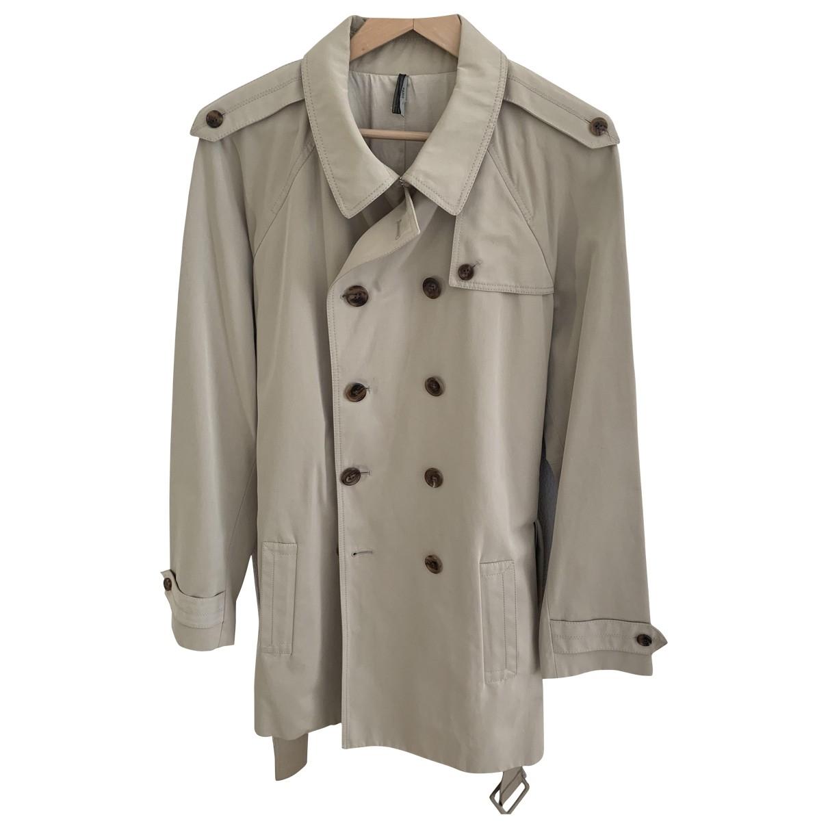 Dior Homme - Manteau   pour homme en coton - beige