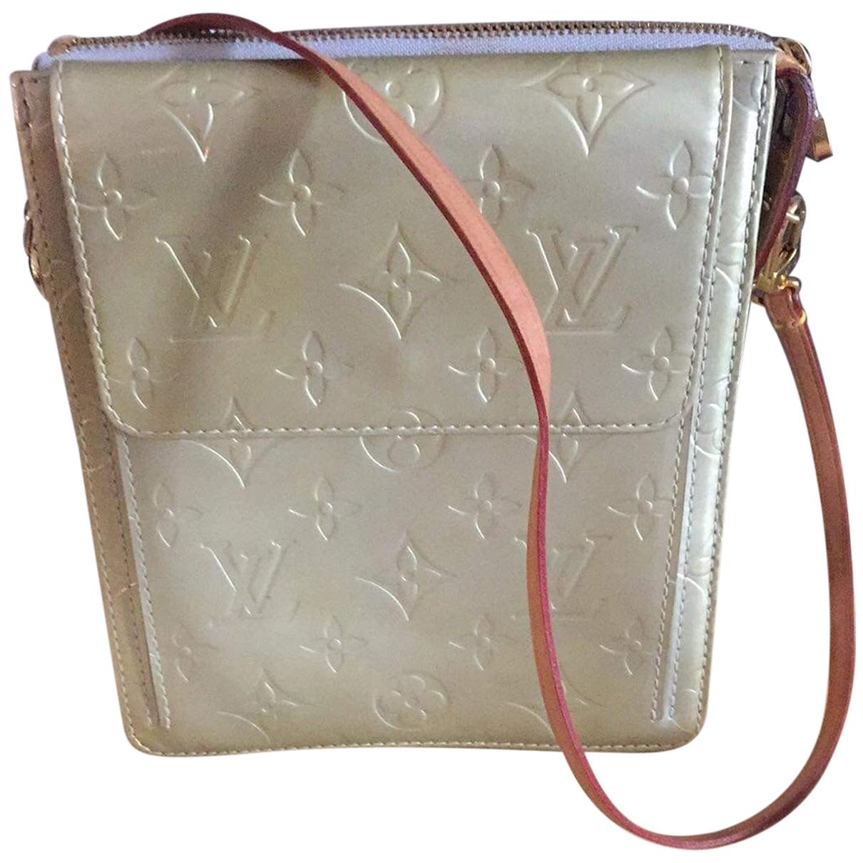 Louis Vuitton \N Silver Patent leather handbag for Women \N