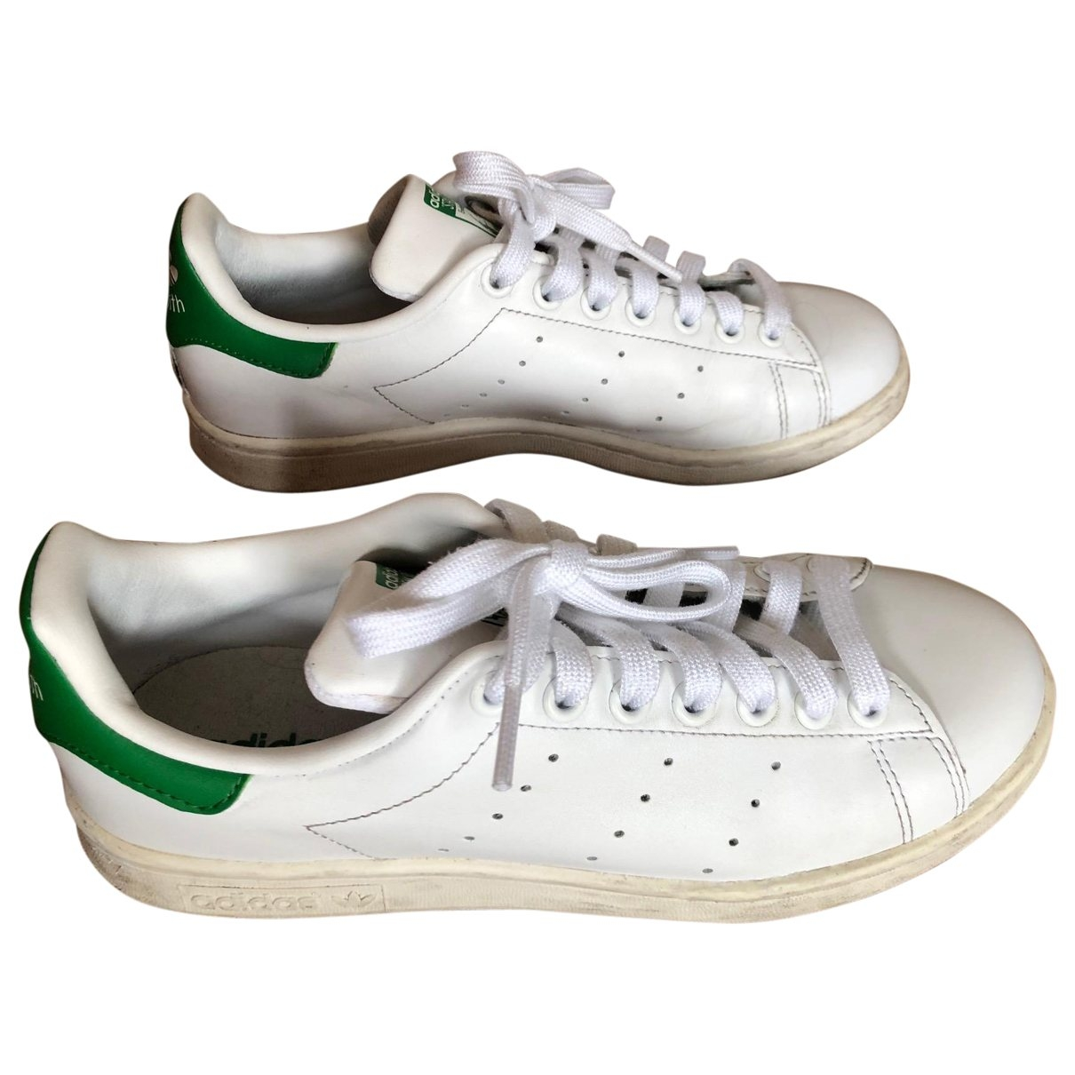 Adidas Stan Smith White Patent leather Trainers for Women 5.5 UK