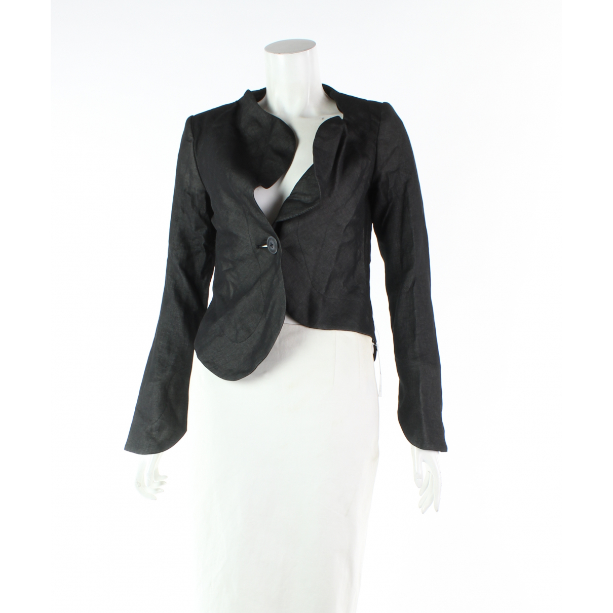 Vivienne Westwood Anglomania \N Black Linen jacket for Women 38 FR