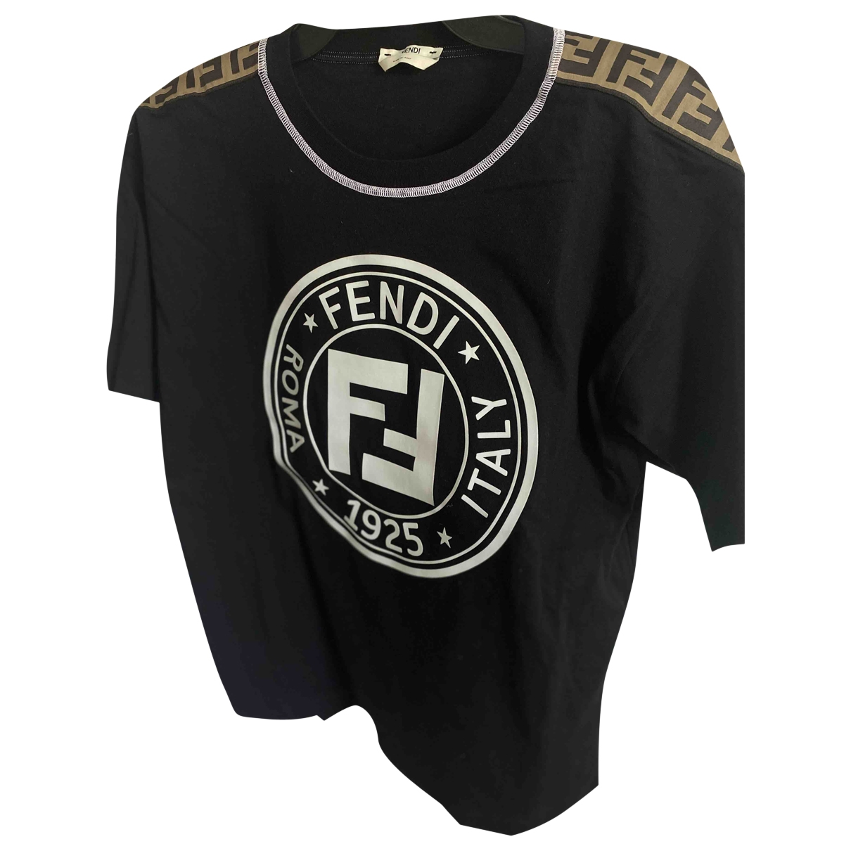 Fendi \N Black Cotton  top for Women 40 IT
