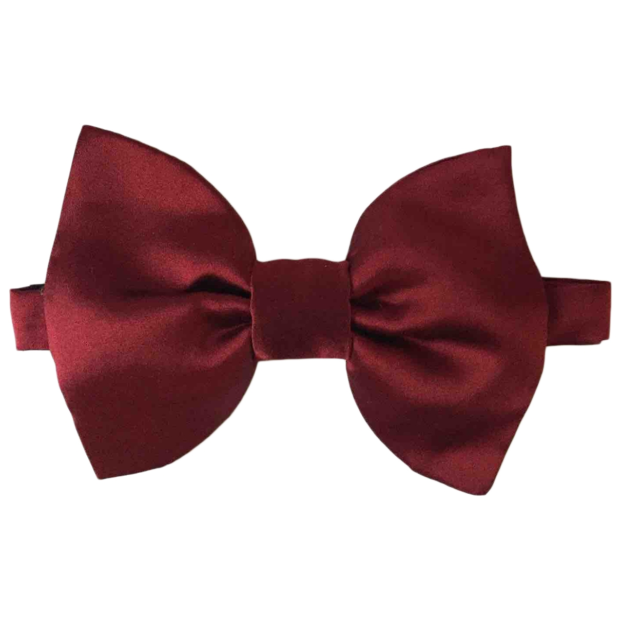 Lanvin For H&m - Cravates   pour homme en soie - rouge
