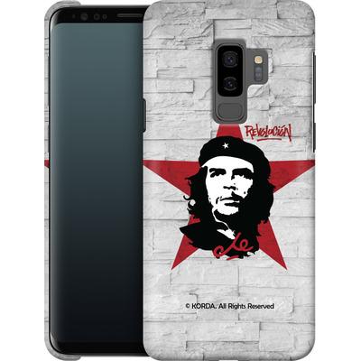 Samsung Galaxy S9 Plus Smartphone Huelle - Revolucion von Che Guevara