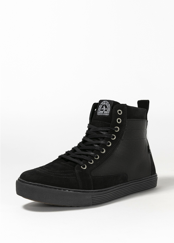 John Doe Neo Chaussures Moto Noir Noir 45