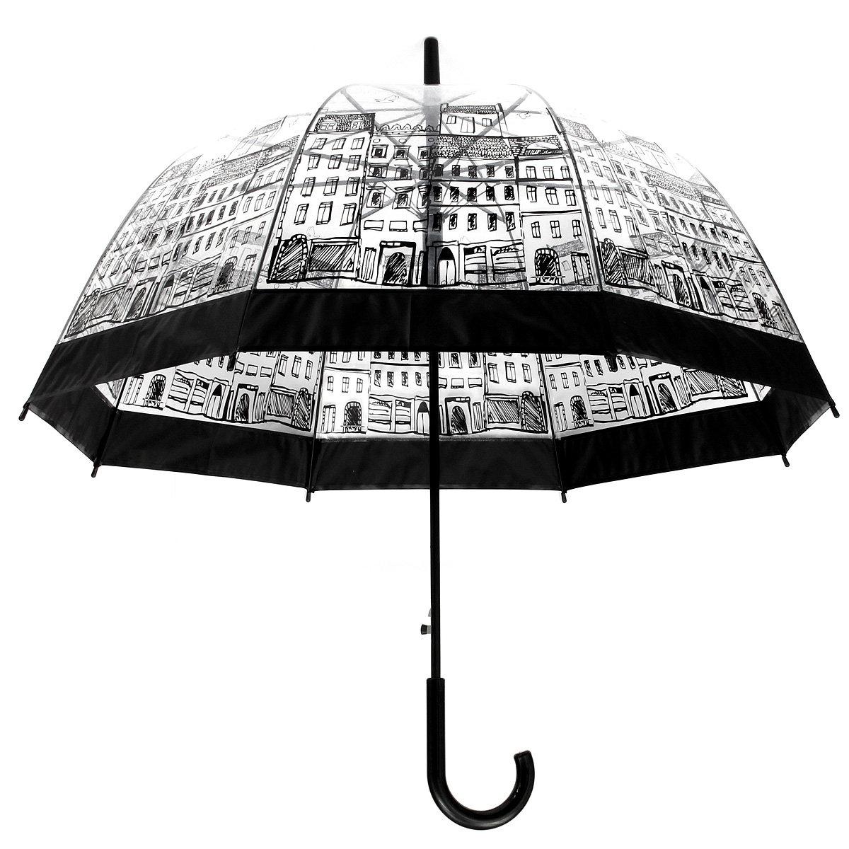 Lady Transparent Lace Umbrella Girl Beard Outdoor House Creative Elegant Rain Gear