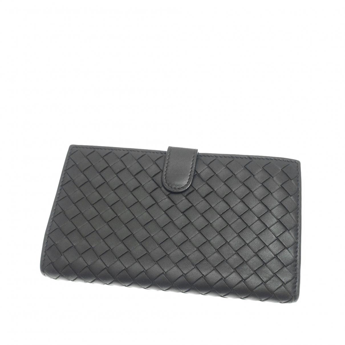 Bottega Veneta \N Black Leather wallet for Women \N