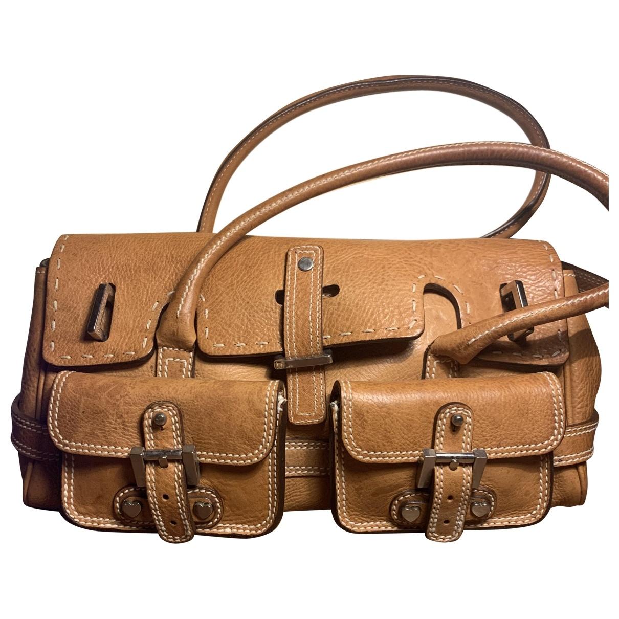 Luella \N Handtasche in  Braun Leder