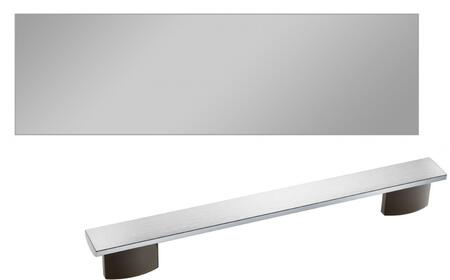 Clean Touch Steel Dishwasher Door Panel with PureLine Handle and 4