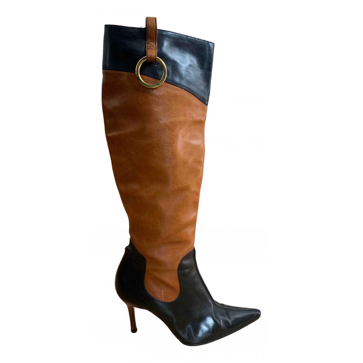 Dolce & Gabbana \N Stiefel in  Kamel Leder