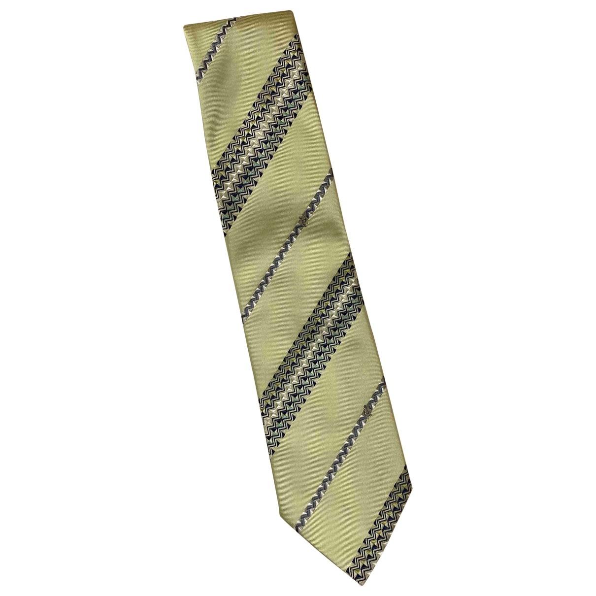 Emilio Pucci \N Krawatten in  Gruen Seide