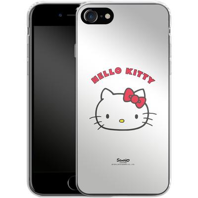 Apple iPhone 8 Silikon Handyhuelle - Just Hello Kitty von Hello Kitty