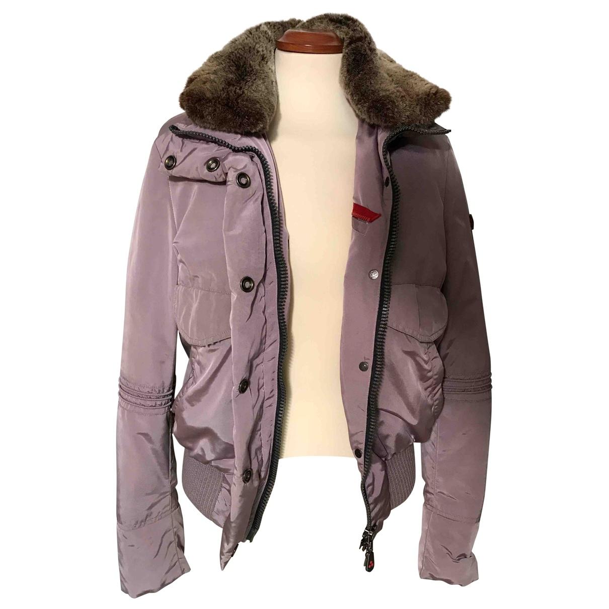 Peuterey - Manteau   pour femme - violet