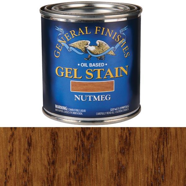 Nutmeg  Gel Stain Solvent Based 1/2 Pint