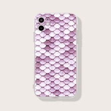 Fish Scale Print iPhone Case