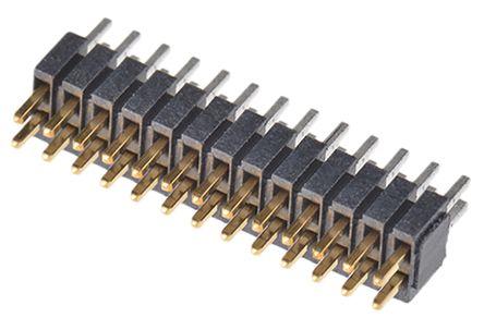 Samtec , FTSH, 26 Way, 2 Row, Straight Pin Header
