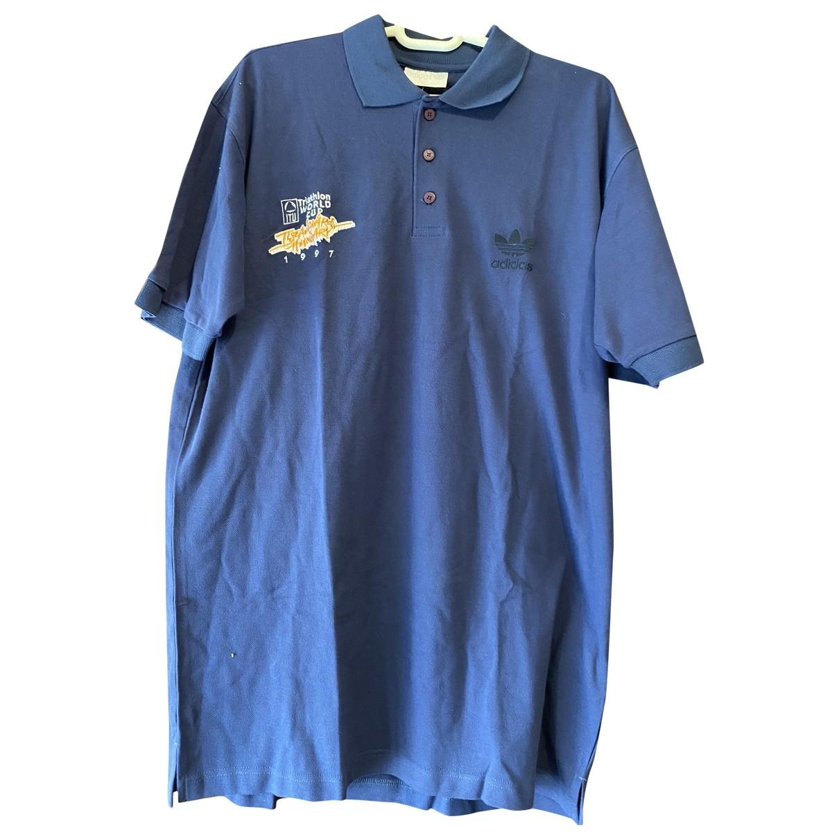 Adidas \N Navy Cotton Polo shirts for Men XL International