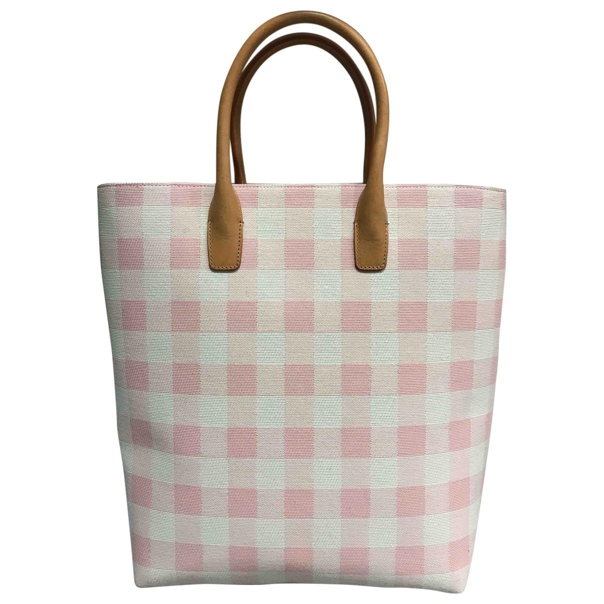 Mansur Gavriel \N Pink Wool handbag for Women \N