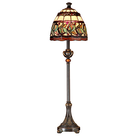 Dale Tiffany Aldridge Buffet Lamp, One Size , Multiple Colors