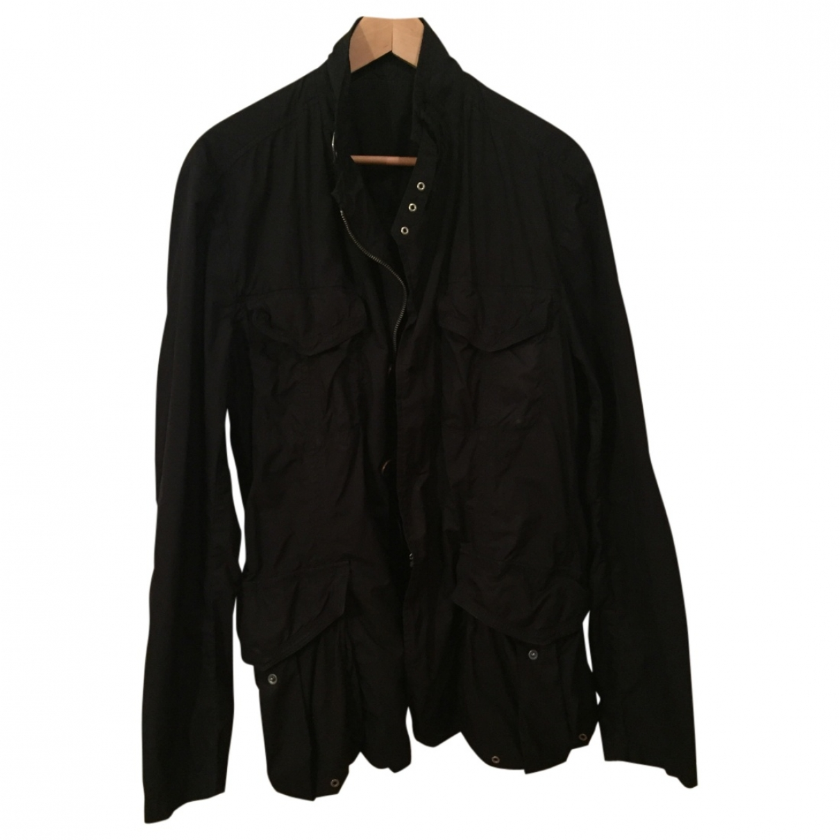 Moncler \N Jacke in  Schwarz Polyester