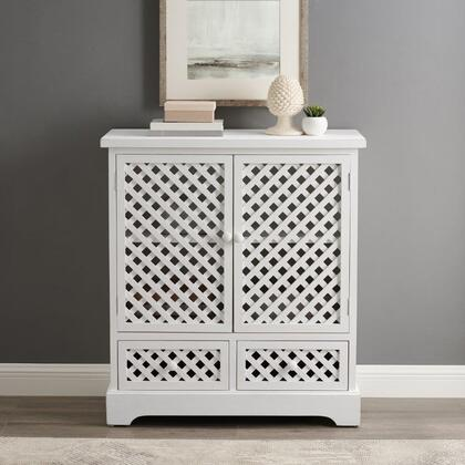 D1235A19C5 Delaney Collection 2 Door 2 Drawer Cabinet in