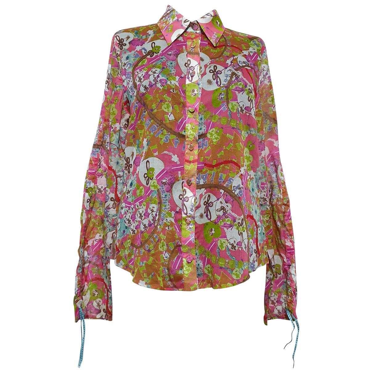 Christian Lacroix - Top   pour femme en coton - multicolore