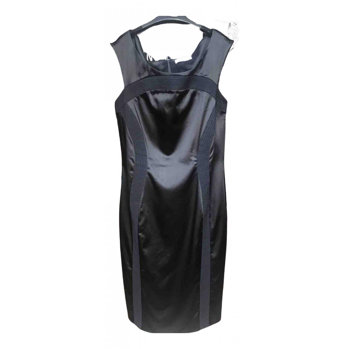 Versace \N Kleid in  Schwarz Baumwolle - Elasthan