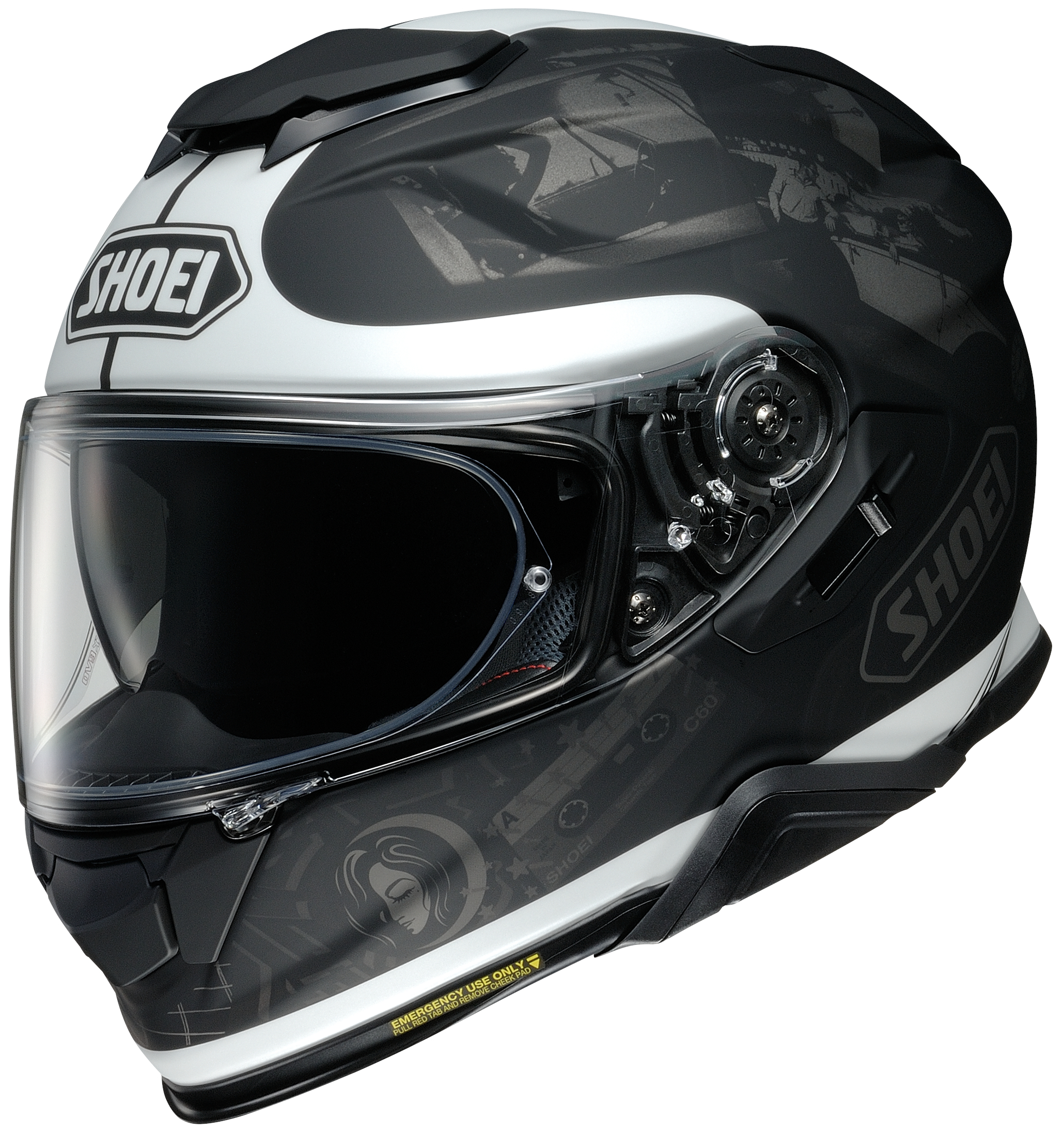 Shoei GT-Air II Reminisce TC-5 Casque Integral S