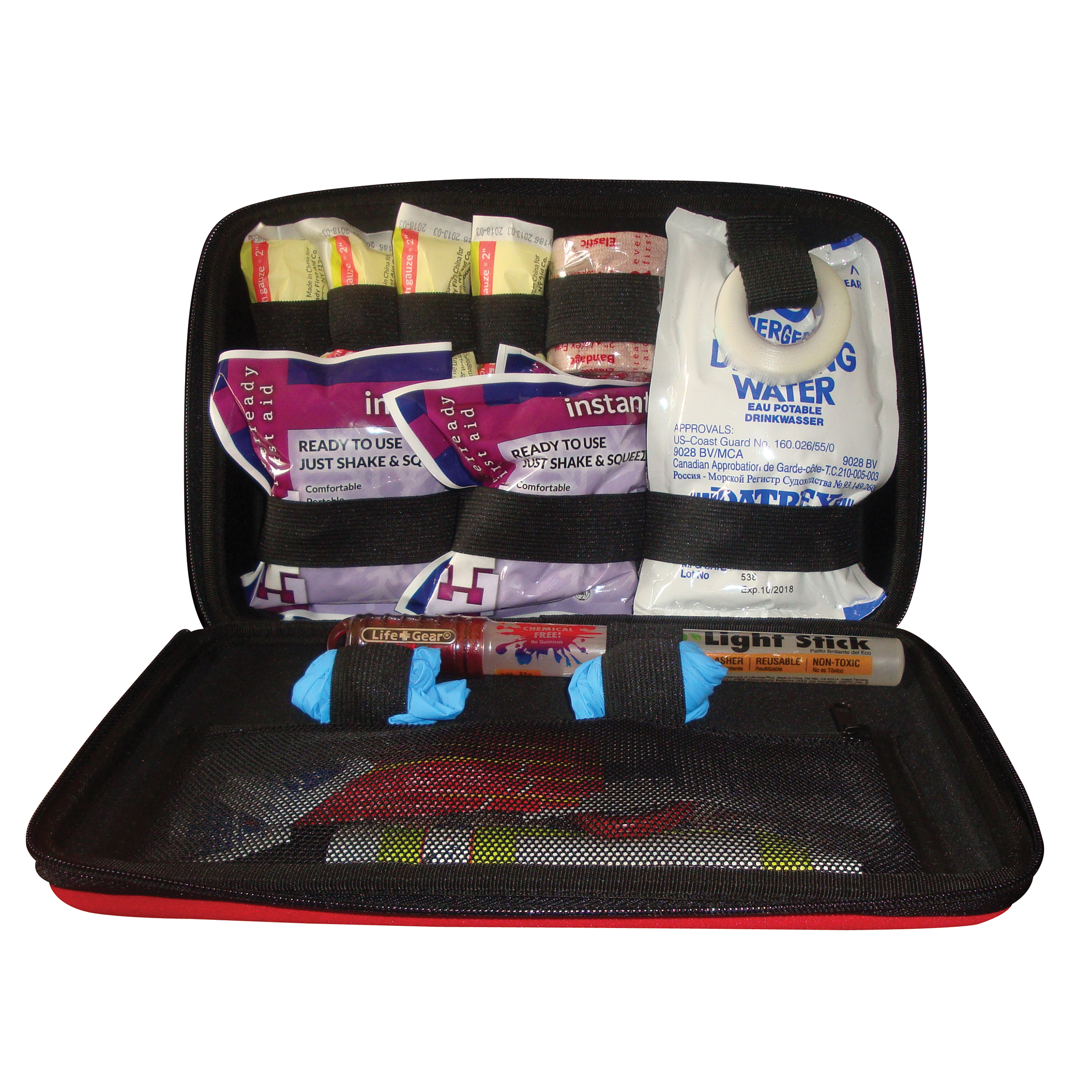 Auto First Aid Emergency Kit