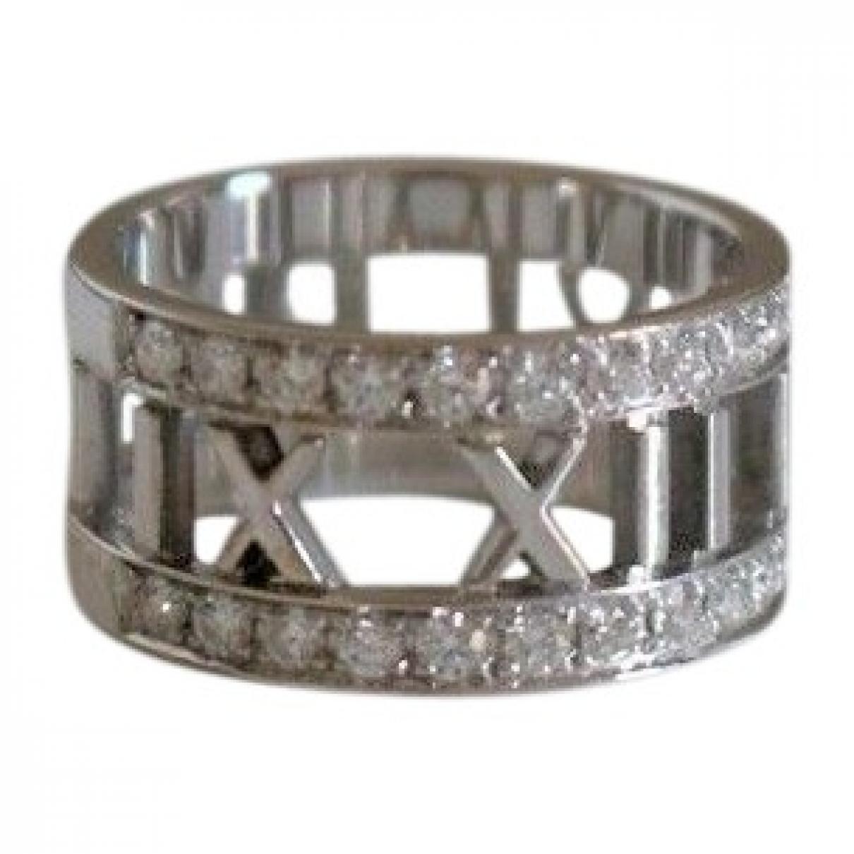 Tiffany & Co Atlas Ring in  Silber Weissgold