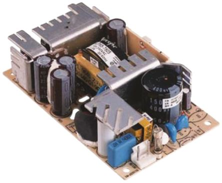 Artesyn Embedded Technologies , 65W Embedded Switch Mode Power Supply SMPS, 5 V dc, 24 V dc, Open Frame